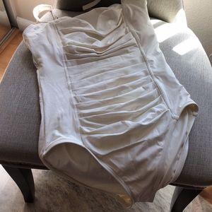 1 Piece Cream Bathing Suit